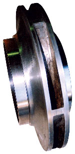 Pump Impellor Necks and Wear Rings